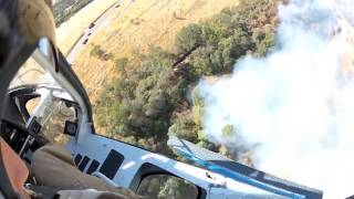 Reeder Flying Service Helicopter Wildland Fire 2014 Elko Nevada