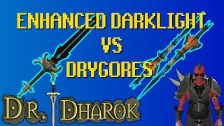 SHOCKING Darklight vs Drygores Combat Comparison - Dimension of Disaster