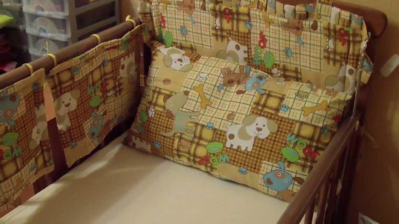 Бортик на детскую кровать своими руками. Жизнь в деревне. - YouTube