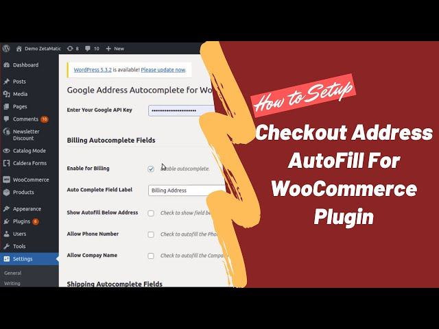 How to Setup Checkout Address AutoFill For WooCommerce Plugin