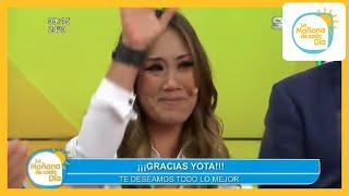 Con mucho cariño despedimos a Yolanda