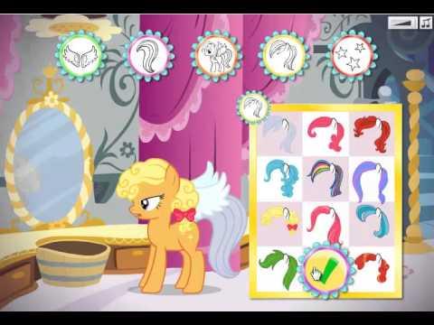 Создай открытку с пони играть
