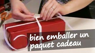 comment mettre ruban cadeau