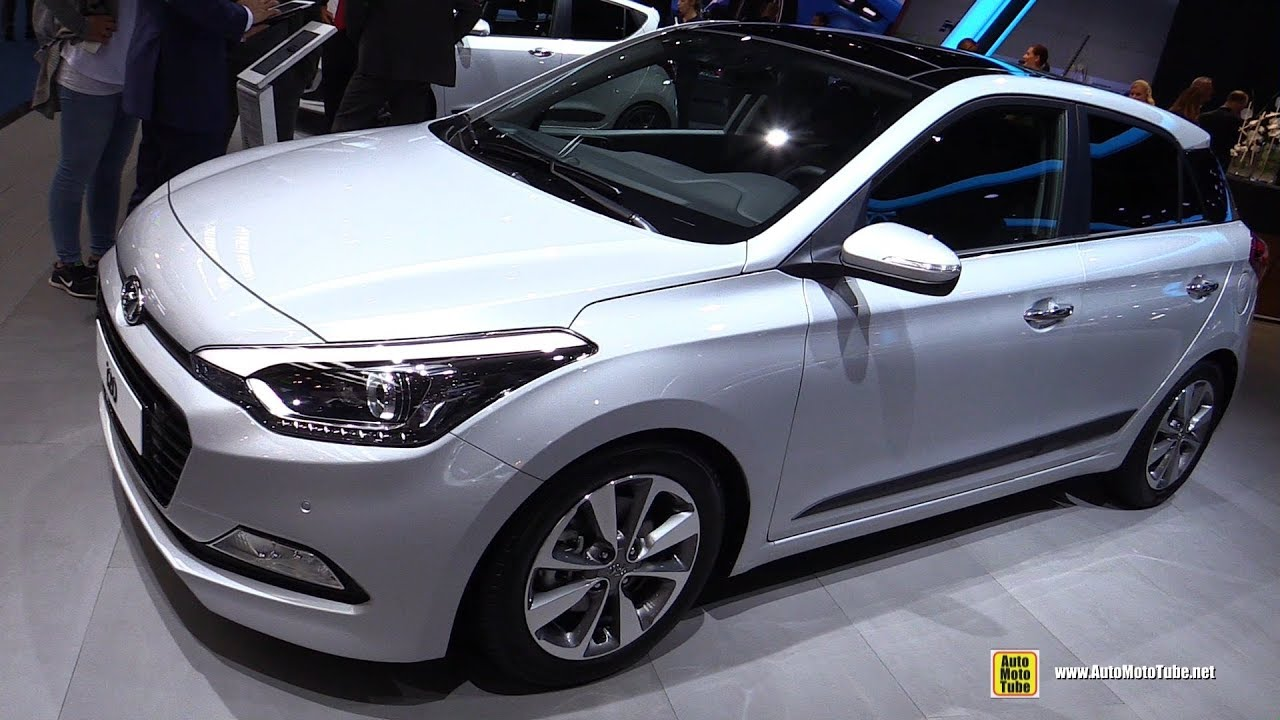 2018 hyundai i20 exterior and interior walkaround 2017 frankfurt auto show youtube. Black Bedroom Furniture Sets. Home Design Ideas