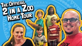 The Official 2 in a Zoo Home Tour (June 12, 2018)