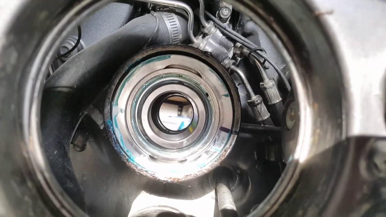 OMC Cobra Volvo Penta Gimbal Bearing Replacement