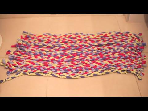 C mo hacer una alfombra de ba o imujerhogar youtube - Alfombras de bano ...