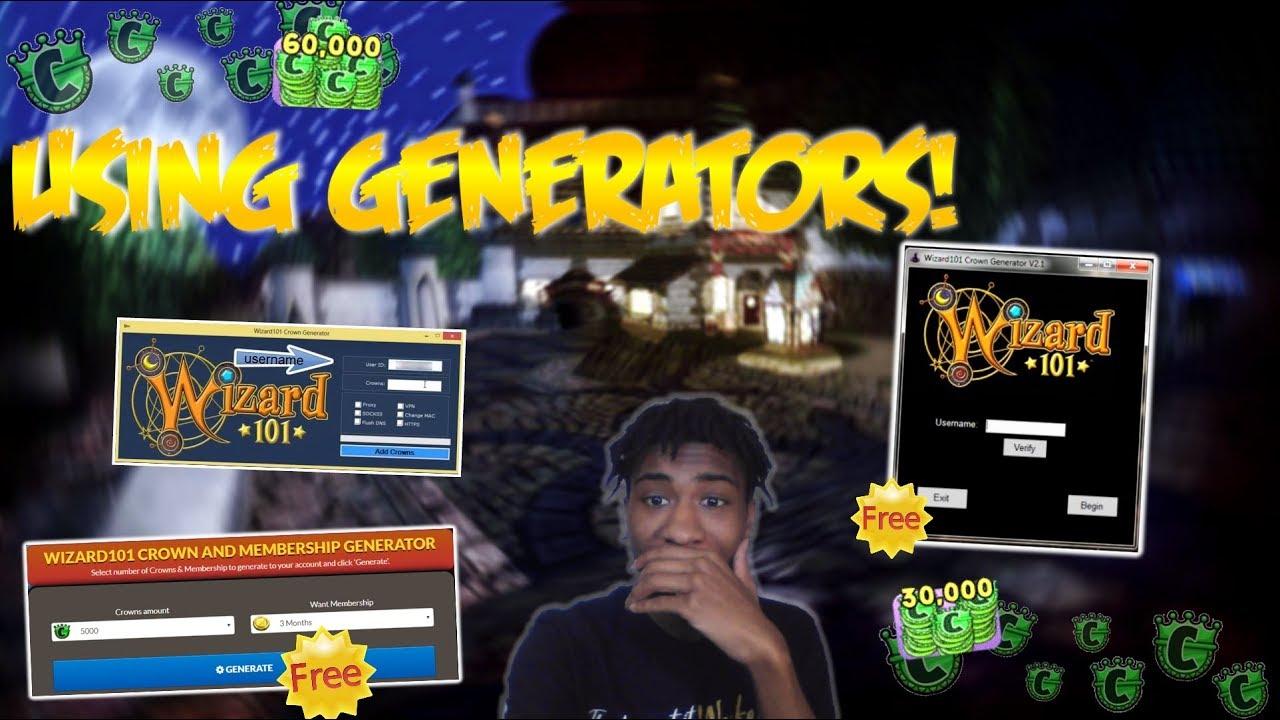 Wizard 101 Hack – Unlimited Crowns Generator