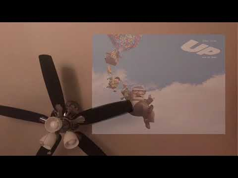 a storm passes while the sad song from pixar's up plays in your head
