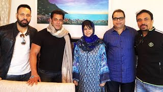 RACE 3 Team Meets CM Of Jammu And Kashmir Mehbooba Mufti | Salman Khan