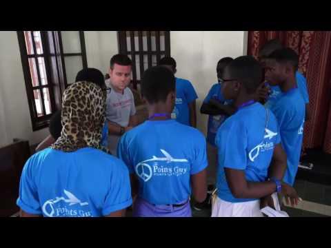 Peace Jam: Ghana Teenagers Simulate Pitching a Shark Tank Business Plan