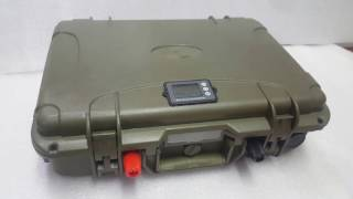 Тяговый литиевый аккумулятор для троллингового лодочного подвесного мотора 12 вольт 60 ампер*час