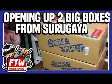 Two Big Japanese Gaming Boxes From Surugaya's Online Store! - Import Pickups FTW! #5