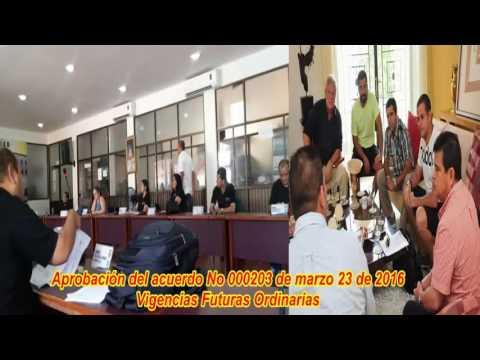 A pupitrazos aprueban Vigencias Futuras Ordinarias al alcalde José Herrera Iranzo