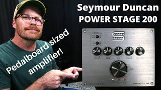 Seymour Duncan POWERSTAGE 200 Pedalboard Amplifier