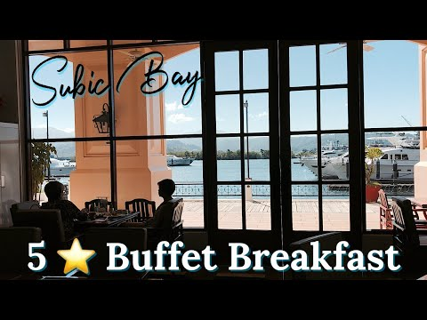 Subic Bay 5 star Buffet Breakfast