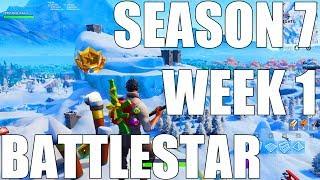 Fortnite - Find the secret Battle Star in Loading Screen #1 (Season 7 Week 1)