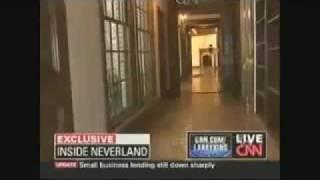 CNNのネバーランドからの映像でマイケルの幽霊が!!! っと世界中を騒...