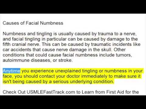 Causes of Facial Numbness