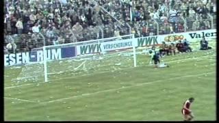 07/05/1980 Borussia Monchengladbach v Eintracht Frankfurt