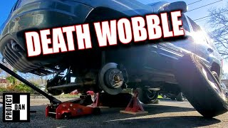 I GOT DEATH WOBBLE!!! JEEP GRAND CHEROKEE WJ TRACK BAR REPLACEMENT