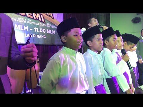 Budak kecil nyanyi sedap lagu Ainul Mardhiah - UNIC live @ penang