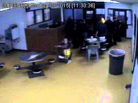 Lorain County Jail footage