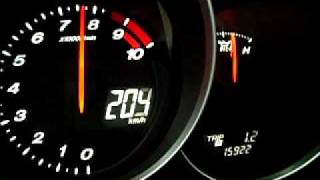 My RX8  0 - 200 kph 27.2 sec. on 1 Km!! (stock,manual 231hp)