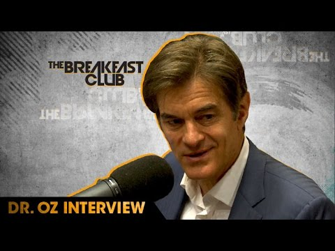 Dr.  Oz Interview With The Breakfast Club (9-14-16)