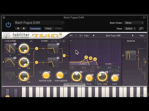 FabFilter 101: Learn FabFilter Twin 2 - 1. Quick Tour