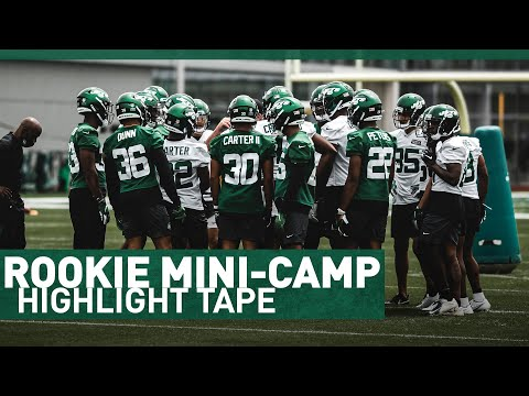 Highlights From Rookie Mini-Camp | The New York Jets | NFL