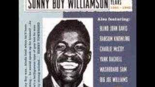 Watch Sonny Boy Williamson My Black Name Blues video