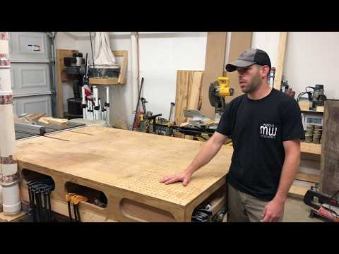 How To Build A DIY Outfeed/Assembly Table