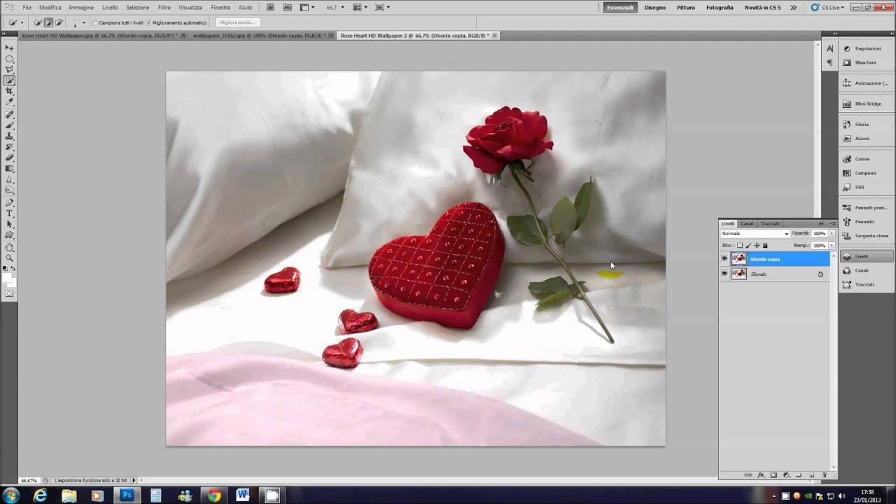 Foto in bianco e nero con un colore in youtube for Foto hd bianco e nero