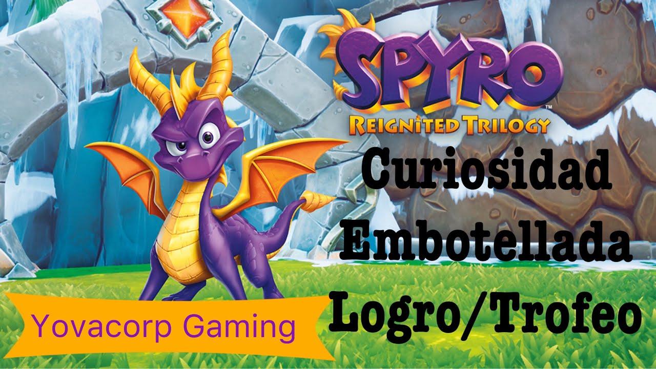 Spyro 3 Year Of The Dragon Curiosidad Embotellada Logro Trofeo Explicacion Facil