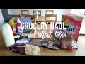 Grocery Haul and Meal Plan - 13th March 2017