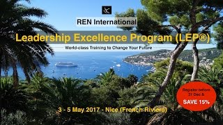 REN Leadership Excellence Program (LEP®)