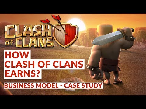 Clash Of Clans - Business Model | Case Study | How Clash Of Clan Earns? | Owned By Supercell | Hindi