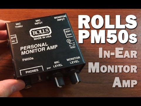 Rolls PM50s Review: Cheap in Ear Monitor System!