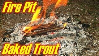 Campfire Pit Baking Method
