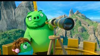 Big ice ball attacking piggy island | The Angry Birds Movie 2