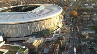14/11/18 Tottenham Hotspur New Stadium Birds Eye View