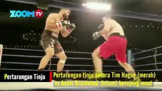 PARTARUNGAN (KOMPLIT) ATLIT MMA HAGUE VS BRAIDWOOD