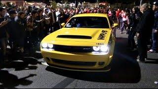 Dodge Demon Taxi SHUTS DOWN The Car Meet!