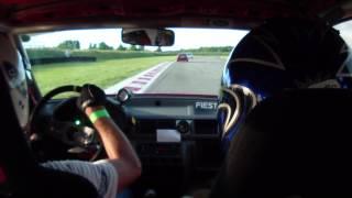 circuit de Bresse fiesta rs vs Porsche gt3 cup acte 2