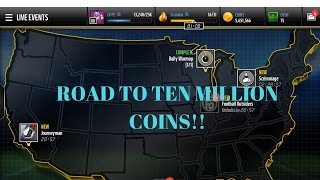ROAD TO TEN MILLION COINS! EPISODE 1 - INVESTING COINS - MADDEN MOBILE 17 GAMEPLAY/ COIN METHODS