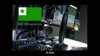 Radio Curso, esperanto en español, lección 2, estreno en el canal