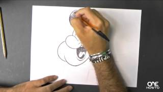 Drawing Animated Popeye - Easy Drawing Guide