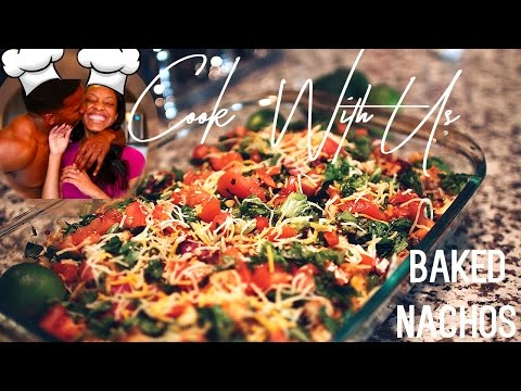 HEALTHY COOKING WITH THE KNOXES: LOADED BAKED NACHOS!!