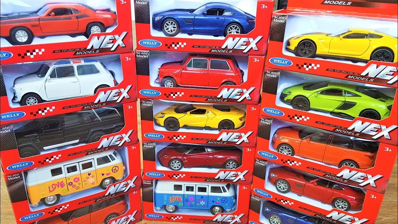 Model Car Collection 1/43 Scale Diecast Unboxing Welly Cars NEW
